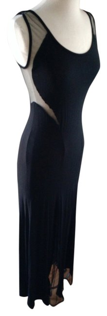 black Maxi Dress by Malloy
