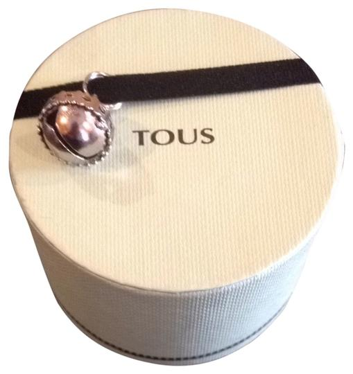 TOUS NWOT Tous Bear Pearl Earrings