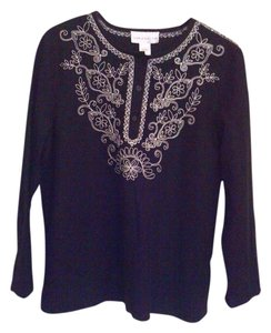 Susan Graver Top Black