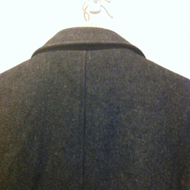 Gap Wool Wool Wool Blend Recycled Trench Trench Long Mid Length Jacket Winter Professional Office Work Evening Pea Coat