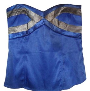 Charlotte Russe Top bright blue