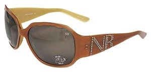 Nina Ricci Nina Ricci Brown Celebrity Style Sunglasses From France