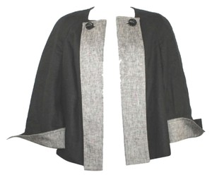 Ellen Tracy Linen Black Blazer