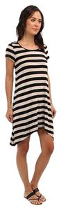 Kensie short dress High Low Striped on Tradesy