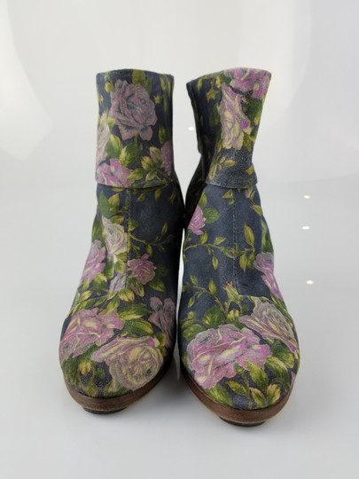Rag & Bone Gray, Green, Purple Boots