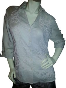 Harve Benard Button Down Shirt light beige