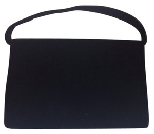 Hillard & Hanson Velvet Evening Bg Evening Optional Cord Prom Dance Holiday And Simple Elegance Elegant Satchel in Black