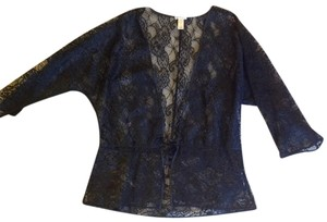 Old Navy Top Black lace