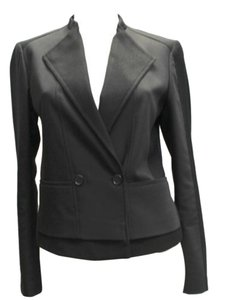 Ann Taylor Cotton Black Jacket Blazer