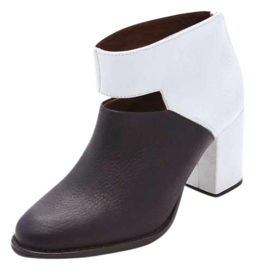 Preload https://img-static.tradesy.com/item/385460/rachel-comey-black-and-white-leather-lafon-cutout-bootsbooties-size-us-5-regular-m-b-0-0-540-540.jpg