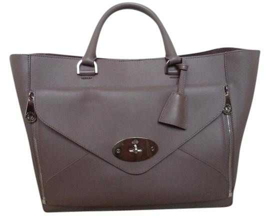 Preload https://item2.tradesy.com/images/mulberry-leather-two-in-one-tote-bag-taupe-3854791-0-0.jpg?width=440&height=440