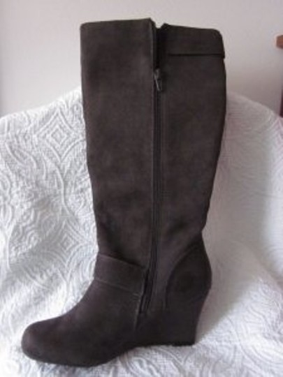 Apostrophe Wendy Wedge gray Boots