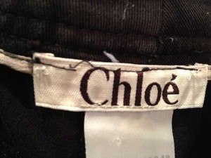 Chloé Wide Leg Pants Black