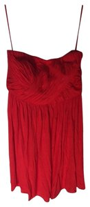 Tibi short dress Red on Tradesy