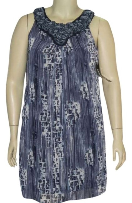 Item - Navy New Misses Above Knee Work/Office Dress Size 10 (M)