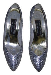 Stuart Weitzman 8m Dress 8m 8m SILVER Pumps