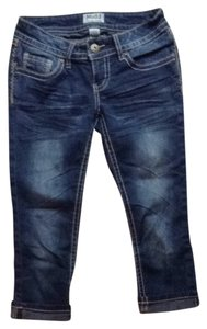 Mudd Capris Dark Wash