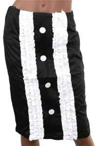 DVDN Skirt black/white