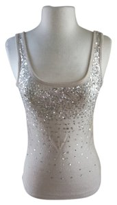 Papaya Sequin Sparkle Top