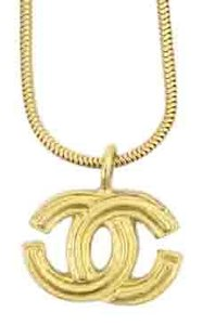 Chanel sold 8/19/16 LM SH UPDATED Chanel CC Logo Snake Chain Necklace CCJY21 40CCA606