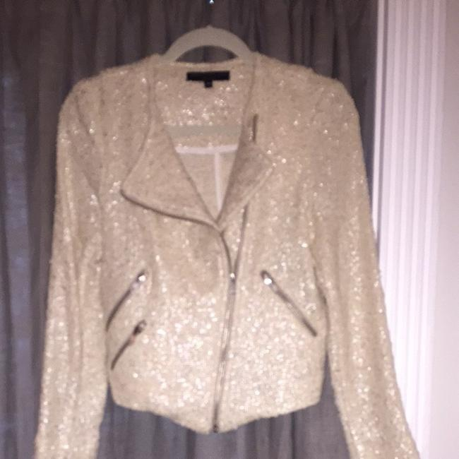 Generation Love Cream With Silver Threads Jacket