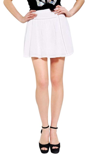 Pins and Needles Skirt White