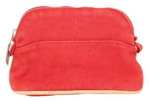 Hermès Hermes Red Everyday Clutch