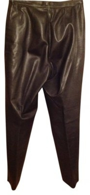Preload https://item3.tradesy.com/images/mixit-black-leather-straight-leg-pants-size-10-m-31-38567-0-0.jpg?width=400&height=650