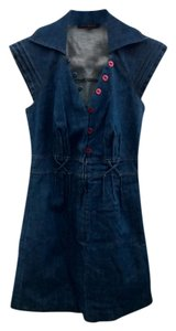 Betsey Johnson short dress Denim Mini on Tradesy