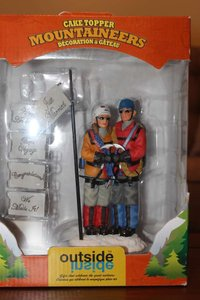 Mountaineer Cake Topper