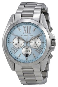 Michael Kors Michael Kors Blue Dial Silver Tone Unisex Stainless Steel Watch