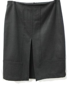 Zara Wool Skirt black