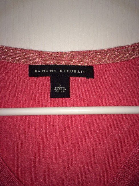 Banana Republic Top Coral