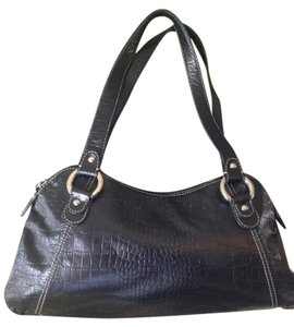 Jones New York Leather Ny Handbag Shoulder Bag