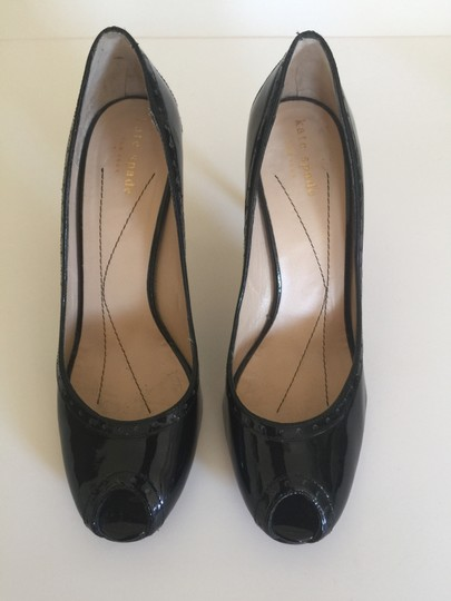 Kate Spade Size 7.5 Black patent leather Pumps