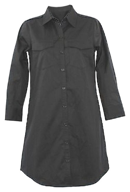 Preload https://item1.tradesy.com/images/theory-buttoned-black-mid-length-short-casual-dress-size-4-s-3857710-0-0.jpg?width=400&height=650