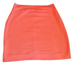 Victoria's Secret Stretchy Mini Pink Coral Mini Skirt Coral, Pink