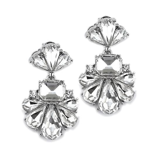 Preload https://item1.tradesy.com/images/clearsilver-art-deco-icy-crystal-and-earrings-3858025-0-0.jpg?width=440&height=440