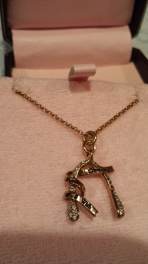 Juicy Couture Juicy Couture - Pave Wishbone Necklace,