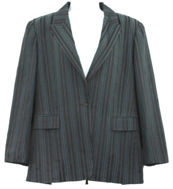 Preload https://item2.tradesy.com/images/elie-tahari-stripes-single-breasted-cotton-blend-jacket-blazer-size-10-m-3858196-0-0.jpg?width=400&height=650