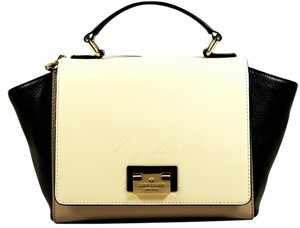 Kate Spade Sale Tote Satchel in Taupe Cream Black