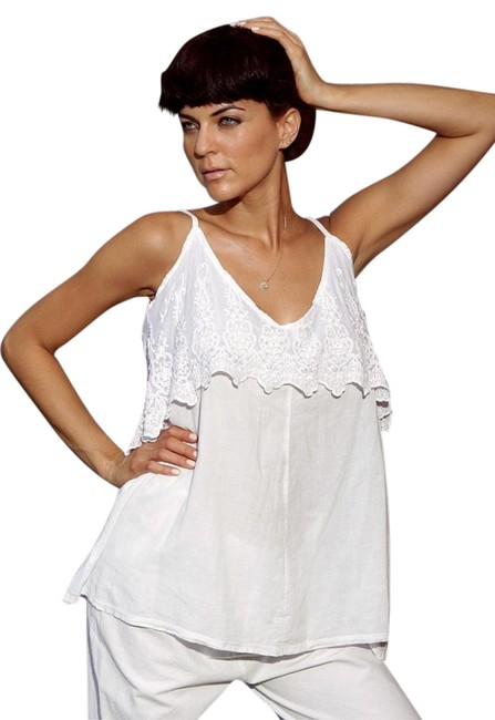 Preload https://item2.tradesy.com/images/lirome-crochet-cozy-lace-organza-tunic-white-3858391-0-2.jpg?width=400&height=650