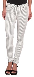 Hudson Jeans Black And White Skinny Jeans