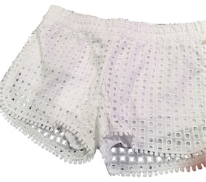 Lilly Pulitzer Eyelet Summer Shorts White