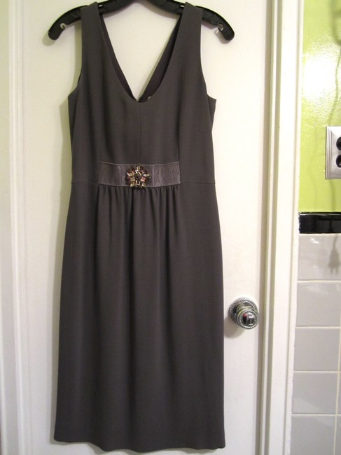Valentino Beaded Wool Sleeveless Dress