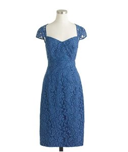J.Crew Leavers Lace (Blue) A9023 Dress