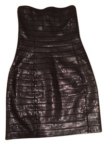 Express Strapless Sequin Dress