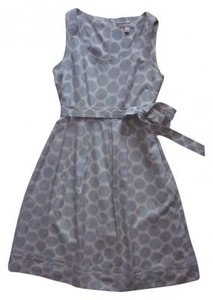 Banana Republic short dress Blue polka dot on Tradesy
