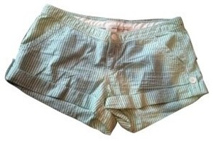 Abercrombie & Fitch Shorts Green/white