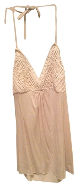 Preload https://item2.tradesy.com/images/anthropologie-off-white-lace-halter-top-size-2-xs-3860206-0-0.jpg?width=400&height=650